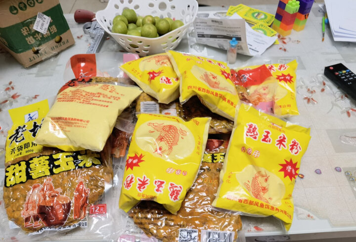 西部风五谷杂粮鱼饵玉米老坛发酵钓鱼窝料 老坛五谷杂粮 纯玉米粒1000g 晒单图