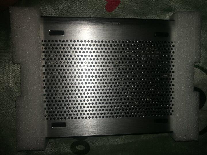 酷冷至尊(CoolerMaster) A200 笔记本散热器 (双14CM风扇/纯铝金属拉丝面板/双USB/电脑组件) 晒单图