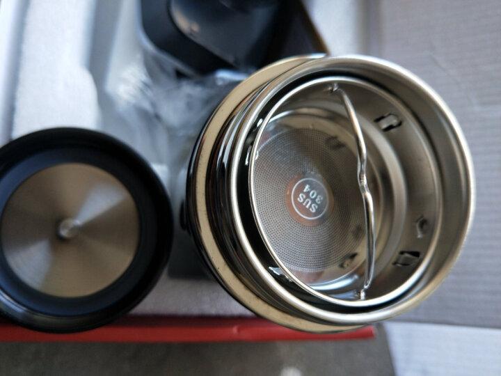泰澄 C05 车载电热杯 汽车加热杯 保温杯 电热水杯 车用烧水壶 神秘黑 晒单图