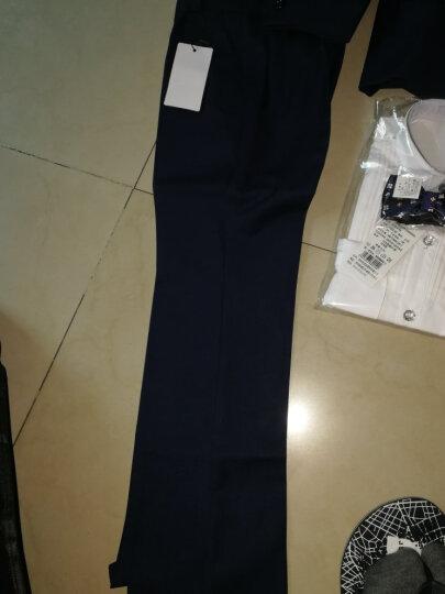 衣诺坊 韩版儿童西装套装花童外套儿童西服主持人男孩礼服大童宝宝 黑色套装含马甲 160cm 晒单图