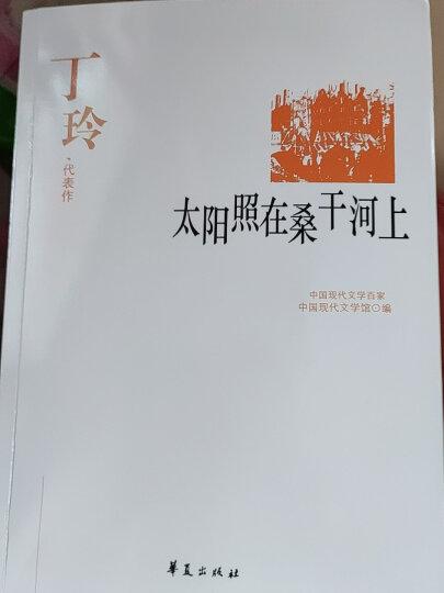 正版包邮 丁玲代表作:太阳照在桑干河上 中国现代文学百家 丁玲小说集 晒单图