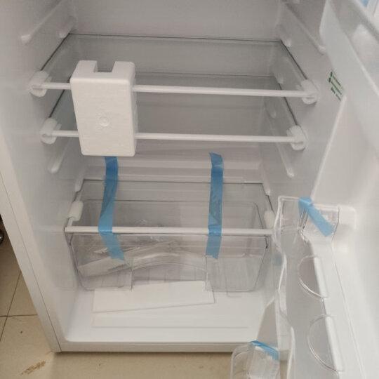 奥马(Homa) 118升 双门小冰箱 家用小型两门电冰箱 宿舍 租房 办公室 迷你节能 PS6环保内胆 银色 BCD-118A5 晒单图