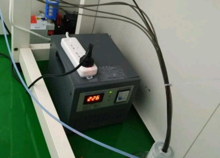 正泰稳压器 全自动高精度 单相交流稳压电源TND1(SVC)-1KVA 1000W 晒单图