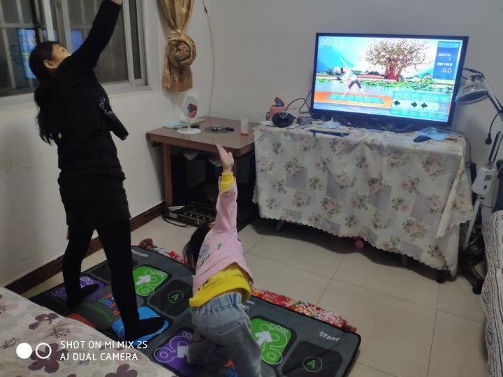 舞霸王【HDMI摄像头超清新款】瑜伽跳舞毯单人双人无线电视电脑加厚高清体感游戏家用手舞足蹈游戏跳舞机 米奇红【超清款无线】+手柄+切水果+瑜伽+体感游戏 晒单图