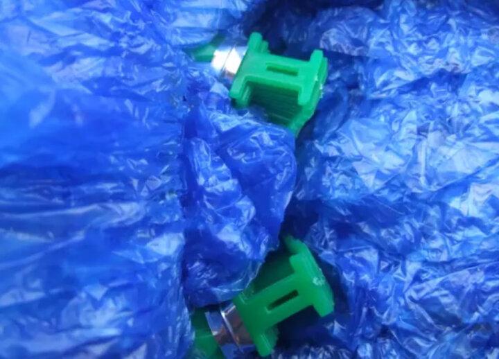 五花鞋套机专用鞋套T型加厚塑料鞋套防水鞋袋 500只 晒单图