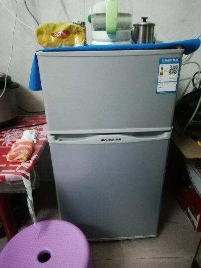 金帅(jinshuai) 92升双门冰箱 迷你小冰箱 家用小型宿舍租房 冷藏冷冻电冰箱  节能静音 92升小冰箱 真实容量 拒绝虚标 晒单图