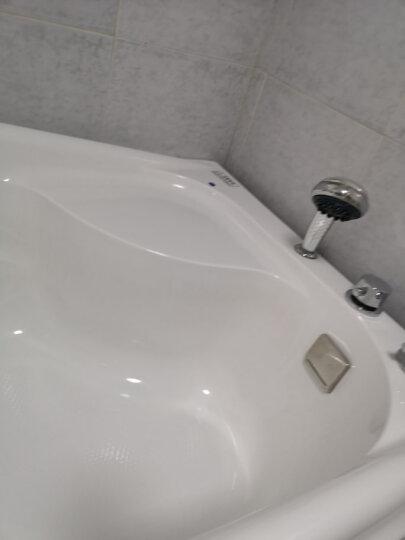 巴斯玛(BATHMALL) 巴斯玛浴缸亚克力冲浪按摩浴池恒温小浴缸家用智能浴盆成人浴桶 右裙空缸(不含龙头) 约1.3米 晒单图