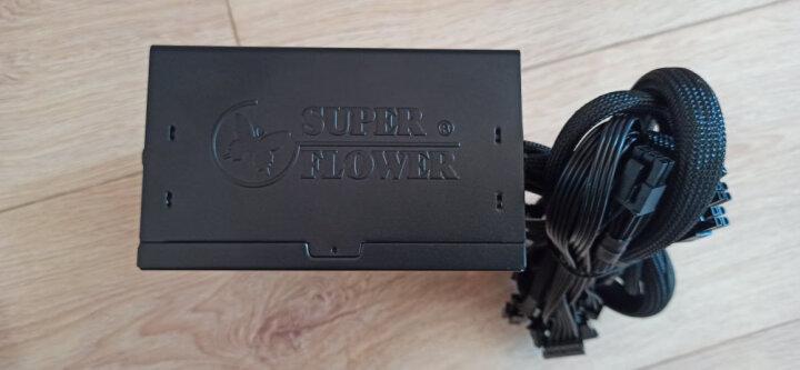振华(SUPER FLOWER) 额定500W 冰山金蝶500战斗版 电源 (80PLUS金牌/支持SLI/ 5年保固) 晒单图