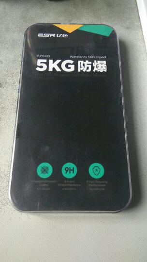 亿色(ESR) iPhone8 plus/7 plus钢化膜 苹果8Plus/7plus钢化手机膜 全屏覆盖3D高清防爆玻璃贴膜 黑色 晒单图