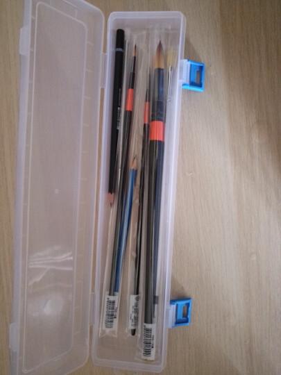 施德楼(Staedtler)素描铅笔100蓝杆专业绘画绘图学生速写笔速炭笔 5B单支装 晒单图