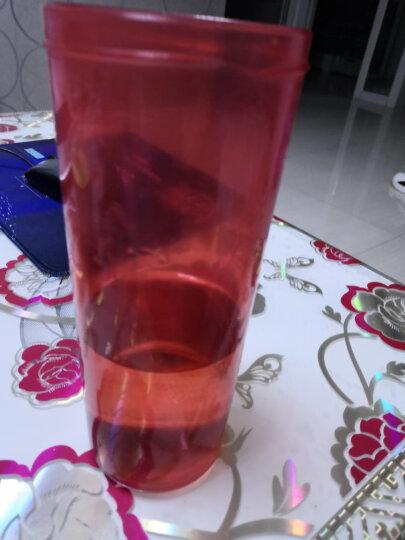 特百惠(Tupperware)500ML茶韵塑料随心水杯子柔蜜粉运动水杯带茶隔杯绳 晒单图