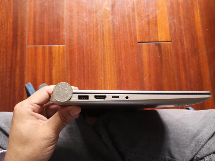 华硕(ASUS) 金属超极本RX310/S4000轻薄便携商务办公超薄学生游戏手提笔记本电脑 旗舰店 石英灰/银灰色【金属超级本】 14.1英寸I5/8G/256G/SSD 晒单图