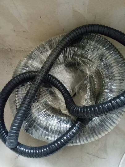 颂余国标包塑金属软管 蛇皮管 穿线管电线套管 电缆电线保护管 穿线软管监控线保护软管 内径25mm(约18米一卷) 晒单图