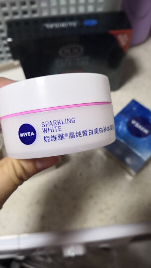 妮维雅(NIVEA)晶纯皙白美白补水凝露(新升级)女士护肤润肤露/乳保湿易吸收乳液面霜50ml 晒单图