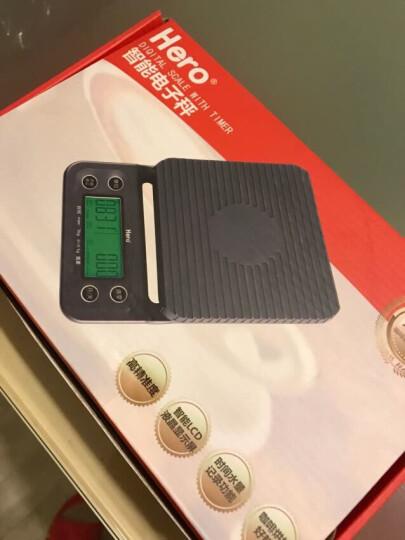 hero智能手冲咖啡电子秤吧台厨房食品电子秤可计时称重 晒单图