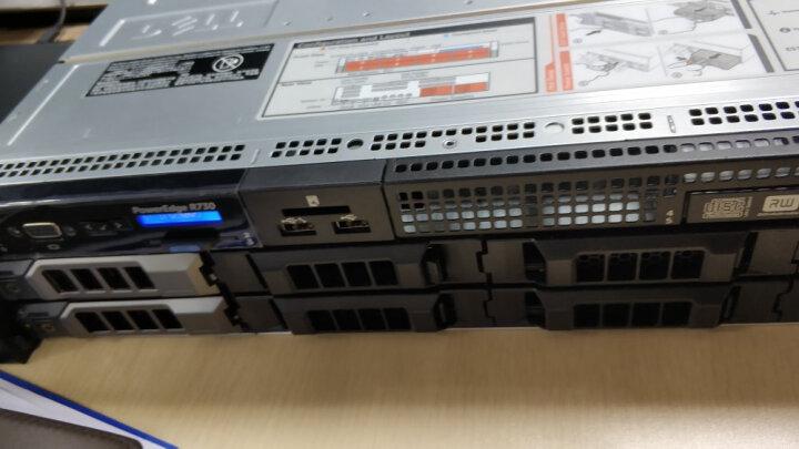 戴尔(DELL) R730 2U机架式服务器主机 1颗E5-2630V4 10核心丨750W*1 128G丨2*256G+6*1.2T H730P 晒单图