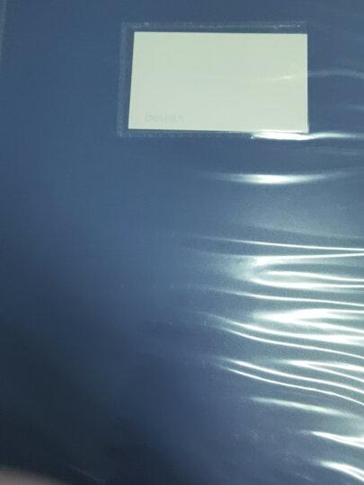 得力(deli)35mmA4塑料文件盒 加厚财会档案盒资料盒文件盒 财务凭证盒  考试收纳 5622 晒单图