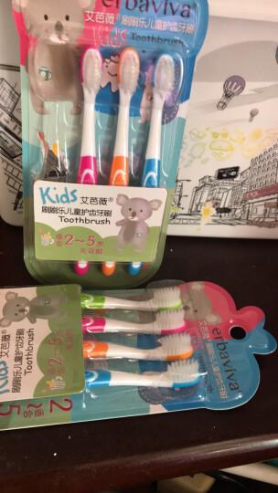 艾芭薇(Erbaviva) 艾芭薇 儿童牙刷2-3-6-12岁软毛 宝宝牙刷小头8支装 【2-5岁】 软毛牙刷8支 晒单图