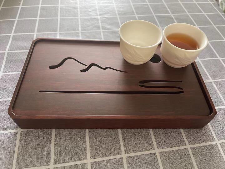 唐舍 德化玉瓷茶杯高白瓷竹节陶瓷功夫茶具泡茶杯品茗杯主人杯单杯个人杯礼品 竹韵杯+礼盒 晒单图