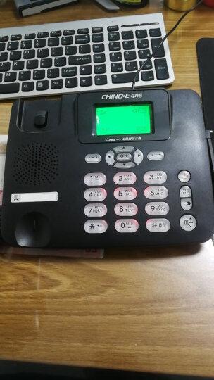 中诺C265  无线  移动 电信座机  插卡电话机  sim卡 无线电话 无线 固话 插移动卡(白色) 晒单图