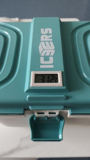 ICERS 保温箱车载药品胰岛素冷藏箱保鲜箱 40升 内置温度计款 蓝白色 晒单图