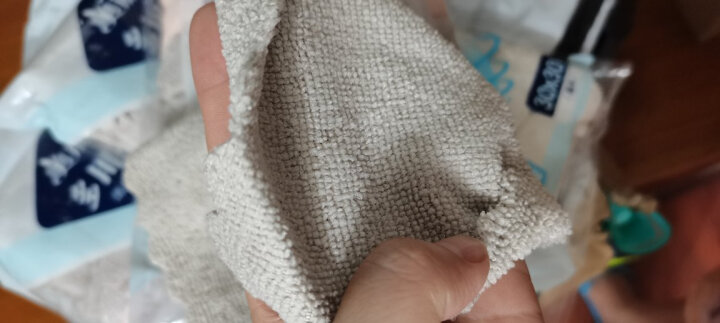 美丽雅 洗碗海绵厨房抹布百洁布家用去油去污海绵擦刷碗布 波纹凹凸洗碗棉2枚装 晒单图