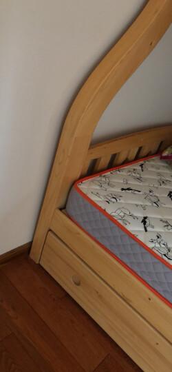 我爱我家儿童床垫 半棕半簧儿童床垫15公分一面软一面硬动物世界儿童床垫 动物世界 1.5*2米 晒单图