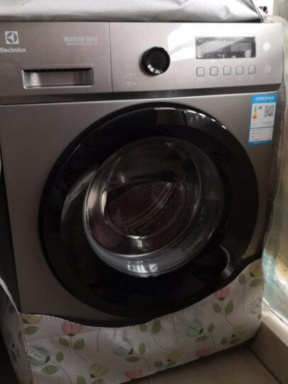 伊莱克斯(Electrolux) EWF12851SS 8公斤变频滚筒洗衣机全自动家用高温洗衣机 钛灰银 晒单图