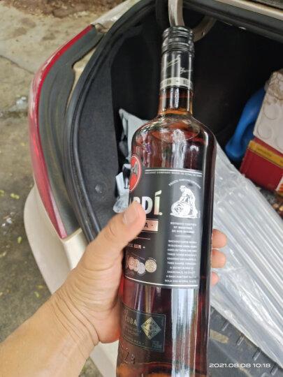 百加得(Bacardi) 黑朗姆酒750ml Mojito莫吉托莫吉多 基酒调酒烘焙  洋酒 晒单图