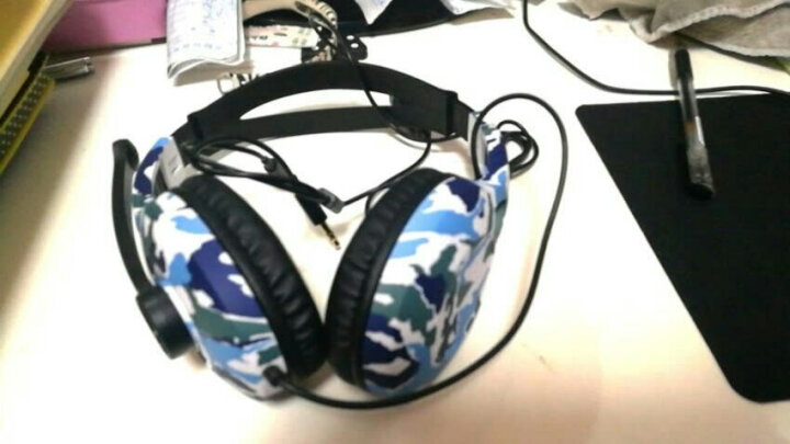 漫步者(EDIFIER)K800 头戴式游戏耳机 电脑耳机耳麦 绝地求生耳机 吃鸡耳机 办公教育 学习培训 迷彩 晒单图