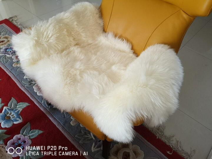 裘朴澳洲羊毛地毯羊毛沙发垫羊毛飘窗垫整张羊皮地毯客厅椅垫摄影地毯皮毛一体瑜伽垫 Qiupu象牙白色 超精品净白鞣制1P.70*95cm 晒单图