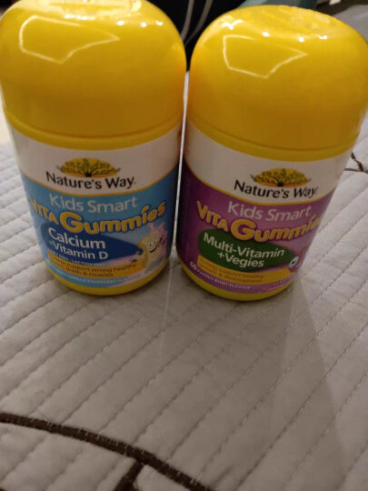 Nature's Way澳萃维 佳思敏 DHA儿童深海鱼油软胶囊 50粒/瓶 澳洲进口 12个月以上 晒单图