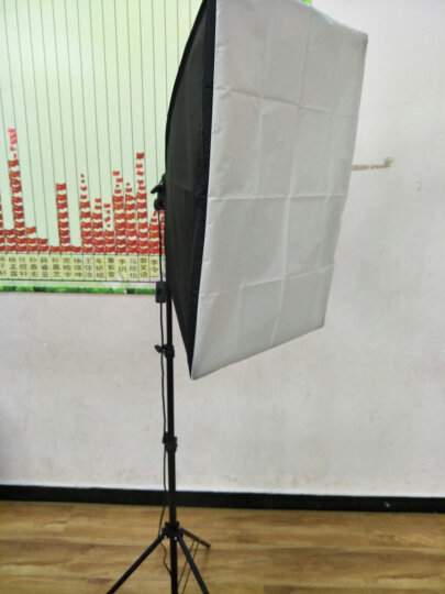 力飞摄影灯套装直播补光灯单反摄像灯主播人像柔光灯箱网店拍照影室灯 4个柔光箱+4个灯架 标配不含灯泡 晒单图