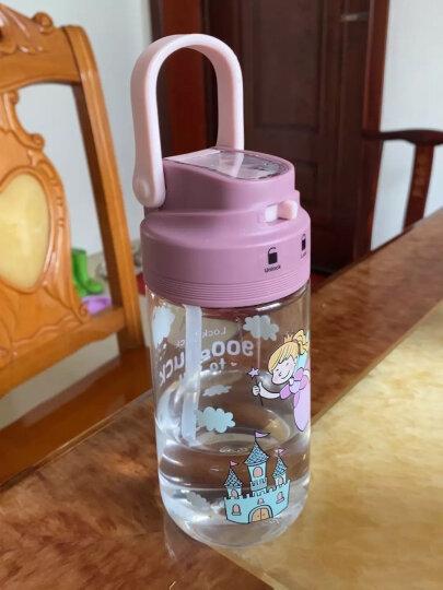 乐扣乐扣(lLOCK&LOCK)便携运动水杯 比得兔系列户外旅行防漏学生随手塑料水杯子 700ml HPP722TB-PR 晒单图