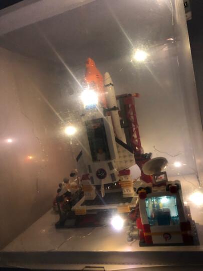 古迪儿童积木拼装玩具小颗粒积木玩具 男孩火箭航天飞机模型生日玩具6-10-14岁 国际机场+大型客机89128913 晒单图