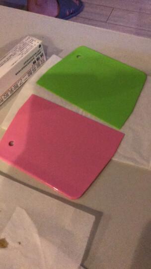 【展艺塑料刮板】蛋糕奶油刮刀月饼切面刀工具软质刮油板烘焙工具 ZY3701硬质刮板 晒单图