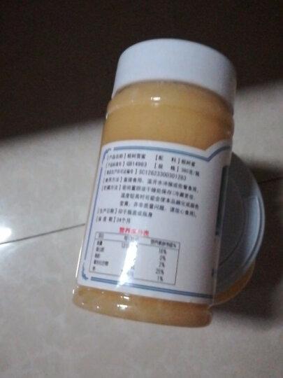 北大荒 东北黑蜂 椴树雪蜜 纯蜂蜜380g*4瓶 晒单图