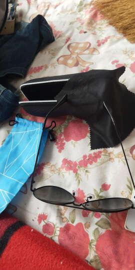骁鹰(X-EAGLE)偏光太阳镜男女同款墨镜眼镜日夜两用高清变色眼镜司机开车骑行眼镜(送全套包装) 升级款银色框宝蓝片 强化偏光镜 晒单图