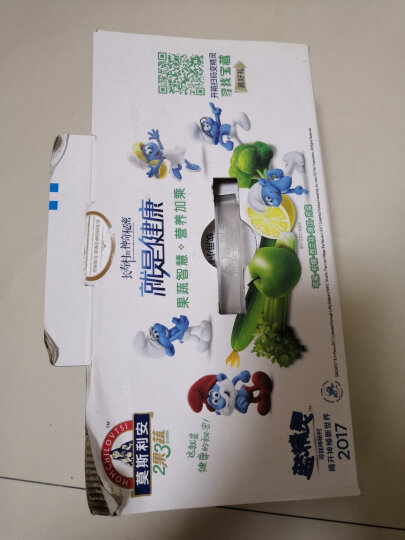 光明 莫斯利安 2果3蔬(苹果、柠檬、西兰花、黄瓜、芹菜混合口味)常温酸奶135g*18盒钻石装中华老字号 晒单图