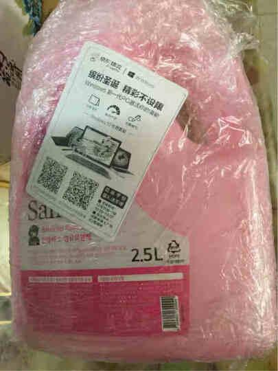山精灵(Sandokkaebi)韩国原装进口衣物柔软剂(花香型)衣服柔顺护理剂2500ml 晒单图