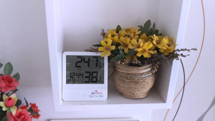 速为 温湿度仪电子温湿度计数显测温度湿度仪器数字温度计SW108 SW-108温湿度计 晒单图