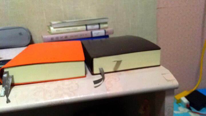 卡诺卡【销售1万+】a5超厚空白方格横线笔记本子640页文具a4白纸加厚手帐记事本b6软皮学生日记本 【橙色】A5空白纸/加厚320张640页/中号 晒单图