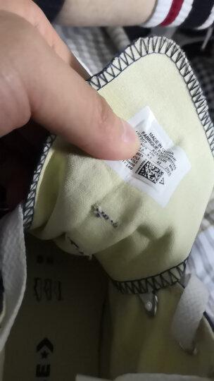 匡威(Converse) 匡威官方 经典款 休闲男女帆布鞋 情侣鞋 101010C 白色/101009C 38/5.5 晒单图
