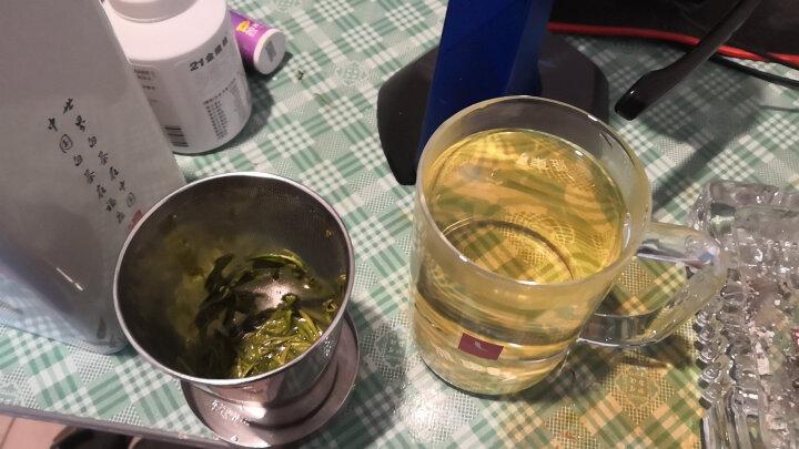 雅集玻璃杯 直觉杯礼盒装  茶水分离过滤办公泡茶杯 男士耐热三件式杯子 晒单图