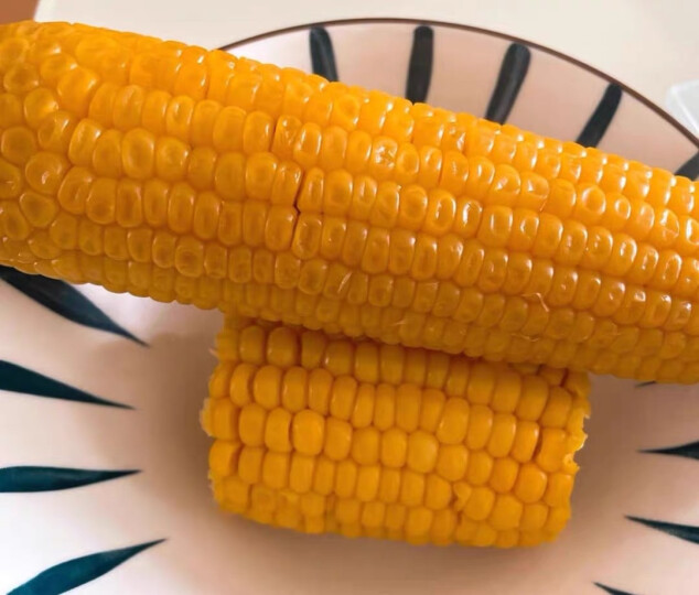 东北农嫂糯玉米香糯玉米真空非转基因黏玉米200g支 黄糯玉米10支 晒单图