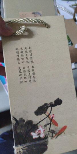 五艺 中国古典风丝绸书签礼盒 中国风特色礼物毕业季升学季出国游学伴手礼 送老师送同学 可做个性化定制 宋词 晒单图