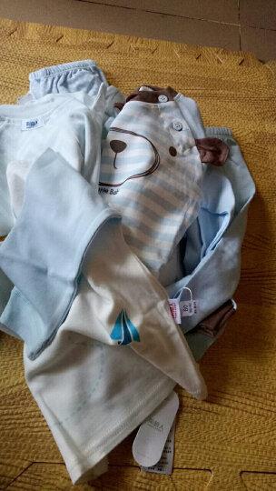 【20款可选】南极人婴儿棉内衣套装新生儿衣服宝宝睡衣秋衣秋裤两件套 森林小熊-浅粉 90CM 晒单图