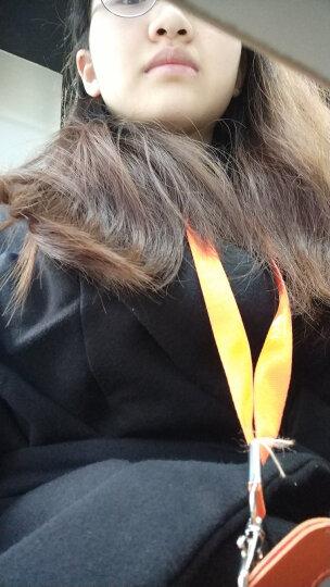 慕知颜 毛呢大衣女中长款毛呢外套2019秋冬装新款韩版女装长袖呢子外套修身加棉加厚 黑色(加棉加厚) S 晒单图
