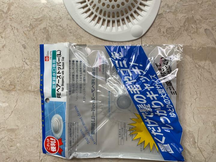 NISHIKI 日本带吸盘过滤网地漏盖浴室水槽排水口过滤器 L大号 晒单图