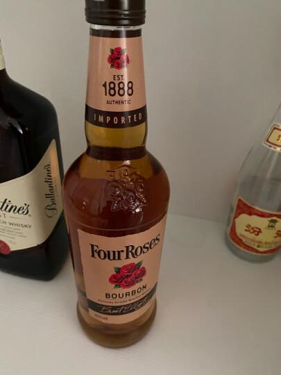 酒牧旗舰店 四玫瑰(Four Roses)肯塔基波旁波本威士忌原装进口洋酒 四玫瑰小批量波本威士忌*6瓶整箱装 晒单图